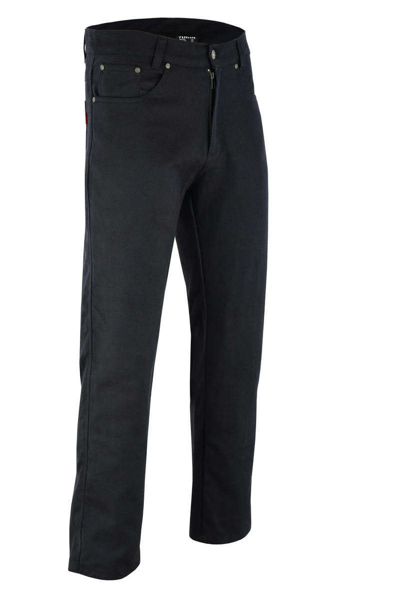 Motorbike Biker Trousers Black Made With Aramid Protective Motorcycle CE Armoure