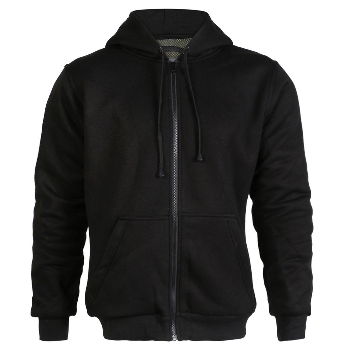 Turin Black Kevlar Lined Hooded Top