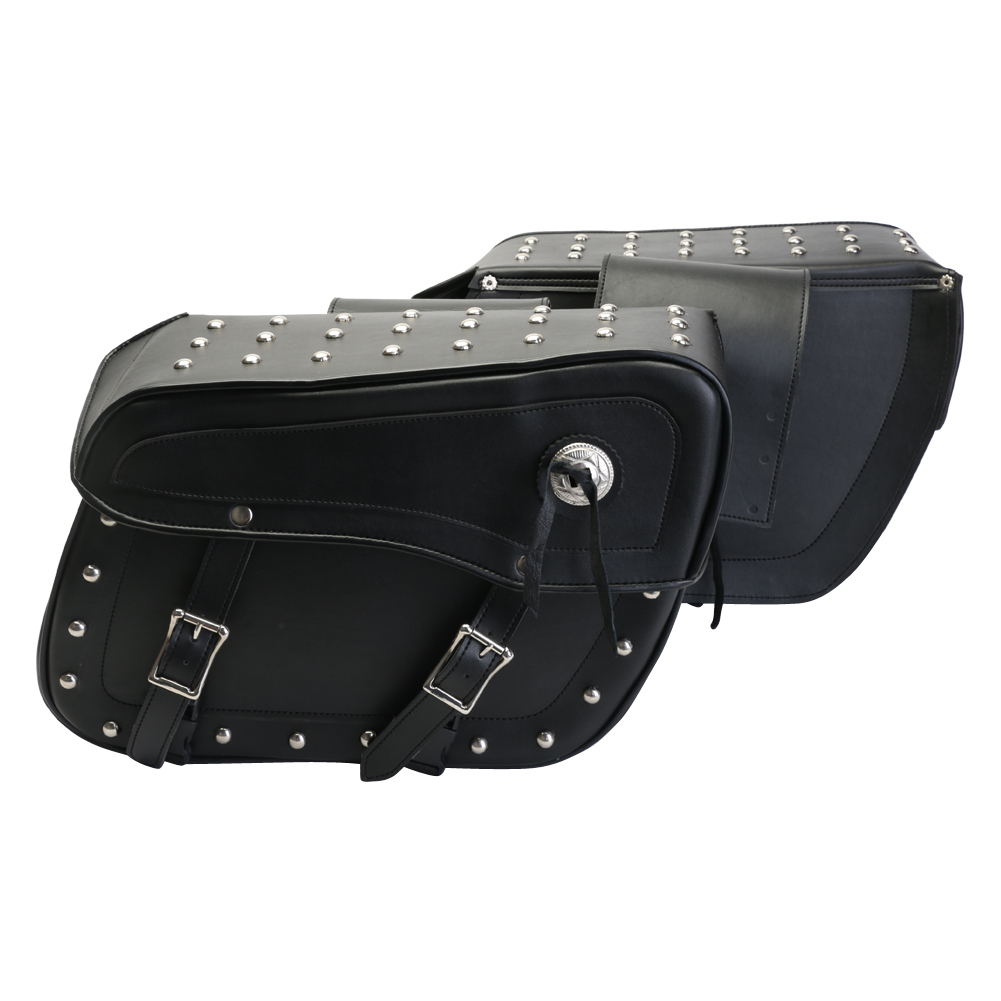 (TMWSB-STUD) Turin Studded Saddle Bags