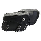 Turin Studded Saddle Bags