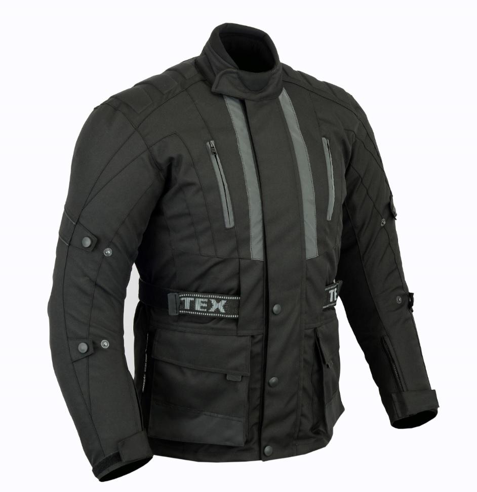 Texpeed Jerico All Black Armoured Cordura Jacket