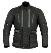 Texpeed Jerico All Black Armoured Cordura Jacket