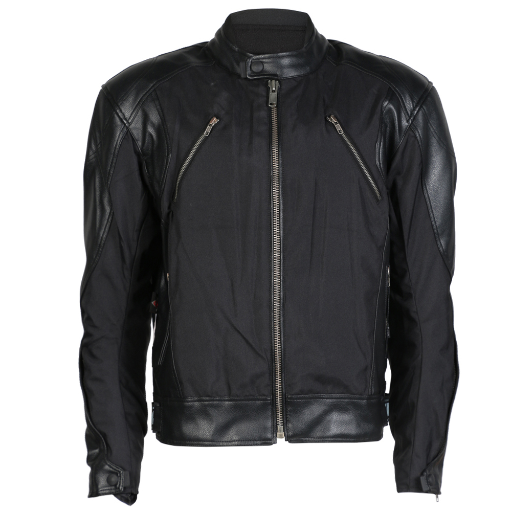 Texpeed Textile / Leather Motorbike Jacket