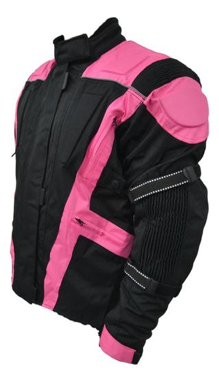 Womens Ladies Motorbike Motorcycle Jacket With Armour Waterproof Protection