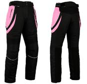 Turin Womens Cordura Black & Pink Trousers