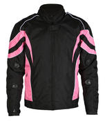 Womens Ladies Motorbike Motorcycle Jacket Biker Waterproof With CE Armour Therma