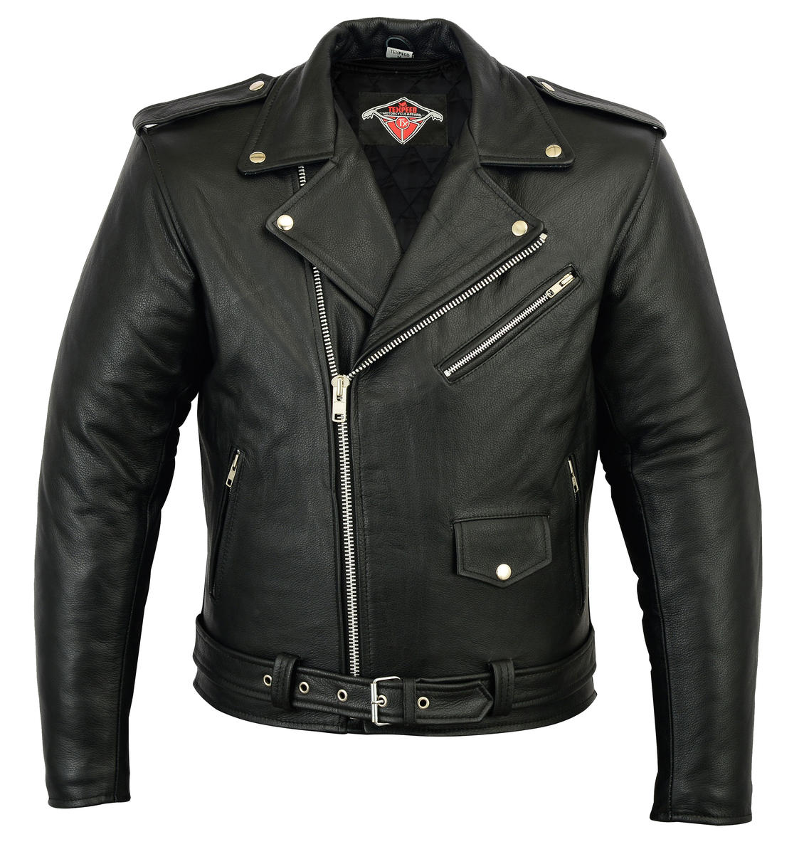 Mens Leather Brando Jacket
