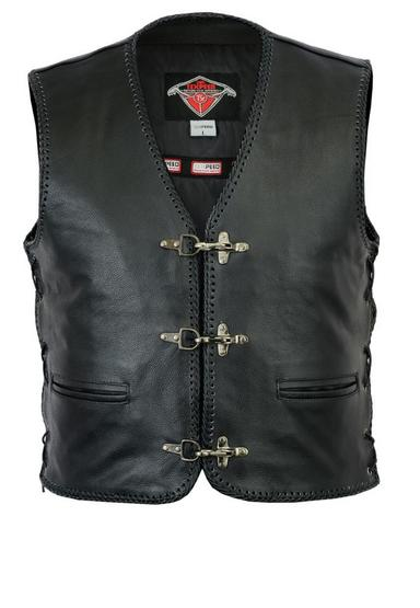 Texpeed Mens Threaded Waistcoat With Clip Fastening