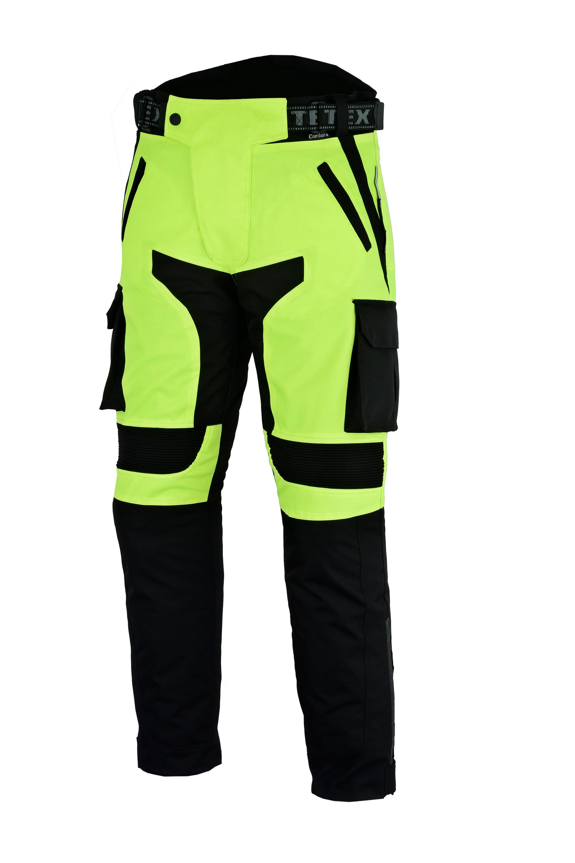 b26f55760b89b0 SENTINEL Motociclista da motociclista Hi-Vis Black impermeabile CE Cargo  Biker