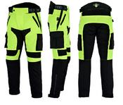 Texpeed Black & Hi-Vis Waterproof Motorcycle Trousers