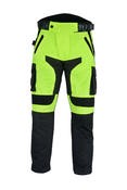 Motorbike Motorcycle Trousers Hi-Vis Reflective Waterproof Thermal Armoured Bike