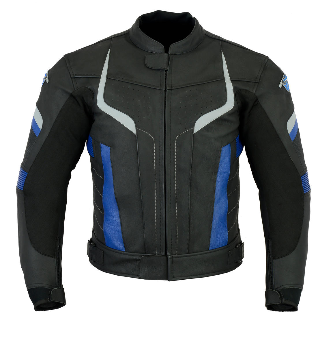 Leather Motorbike Jacket Sports Racing Motorcycle Biker With CE Approved Armour