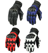 Texpeed KP Black Short Cuff Motorcycle Gloves