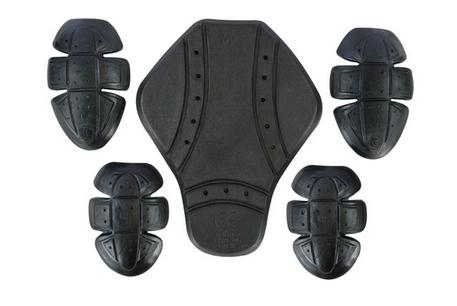 BLK-ARM-JKT (Motorbike Motorcycle Jacket Hoodie CE Approved Armour Protection Hoody Pads)