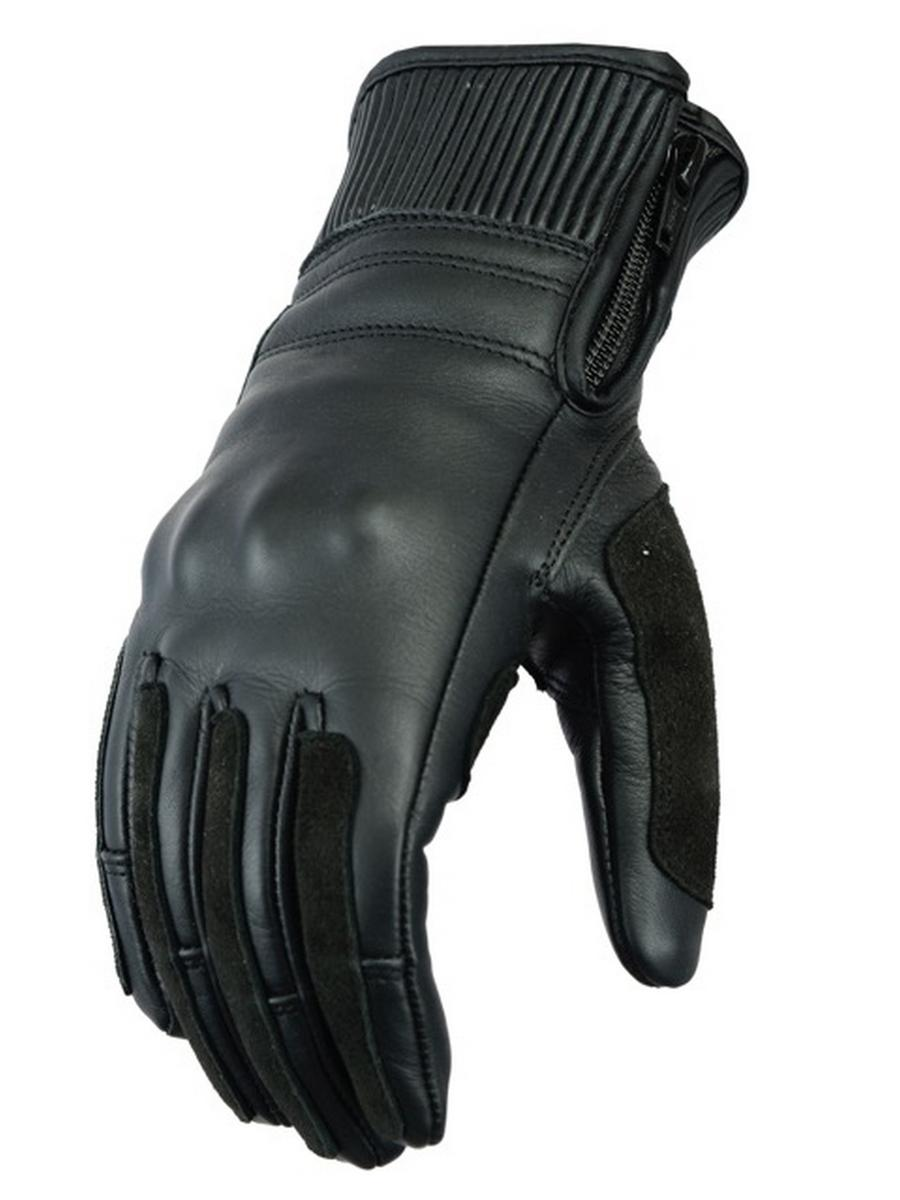 G-WM-BK (Ribbed Cuff Womens Gloves)