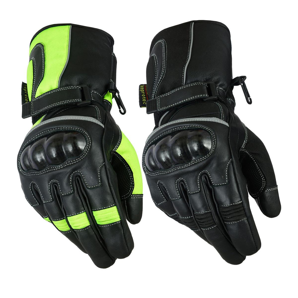 Texpeed All Black Cordura Gloves
