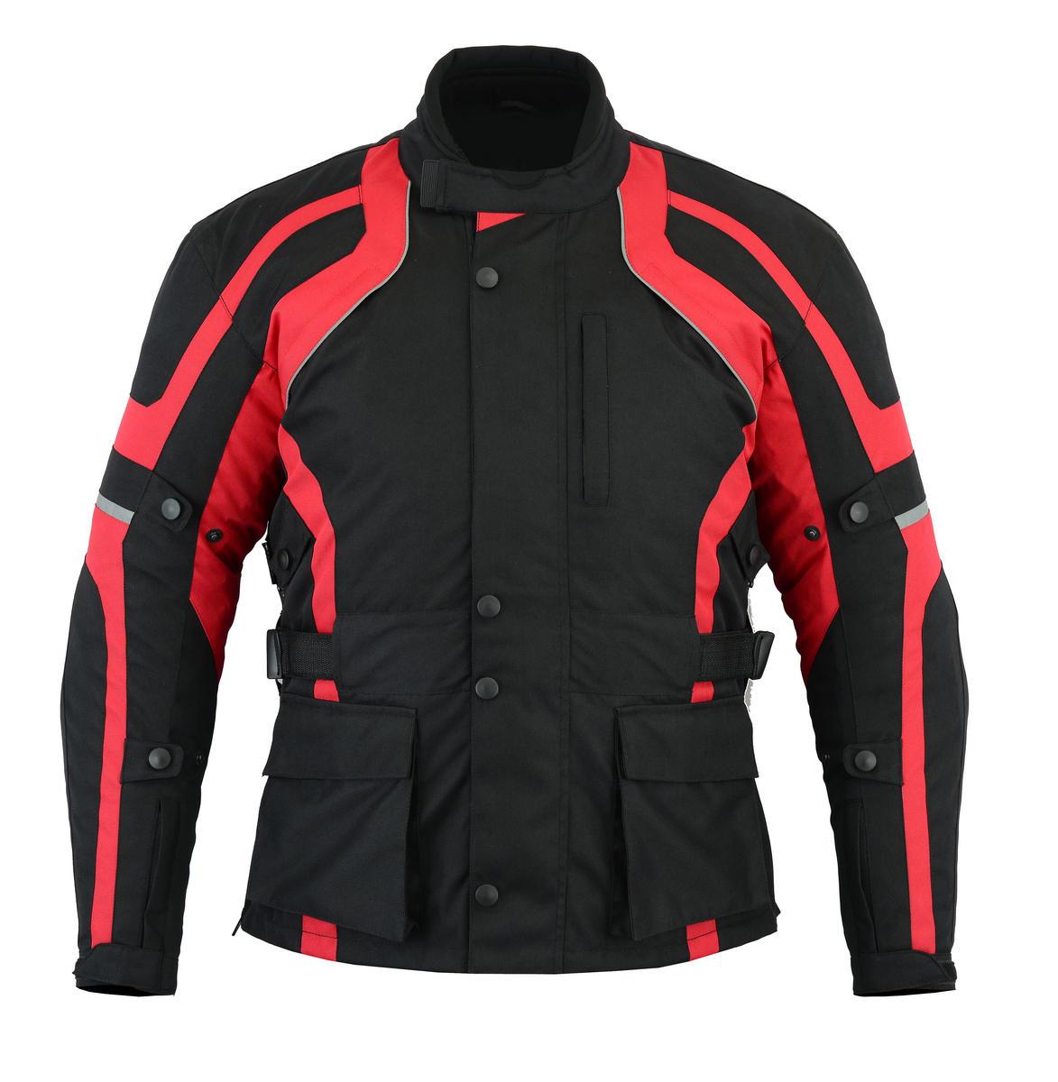 Texpeed Black & Red Cordura Jacket