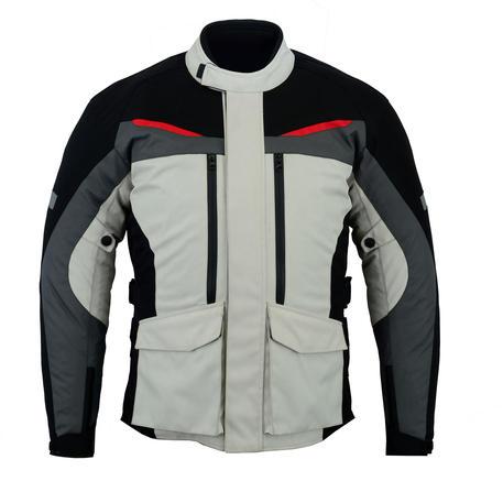 Motorcycle Motorbike Jacket Biker Waterproof CE Armour Cordura Textile Thermal