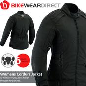 Texpeed All Black Womens Cordura Jacket