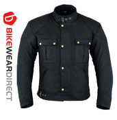 Texpeed Black Waxed Motorcycle Jacket
