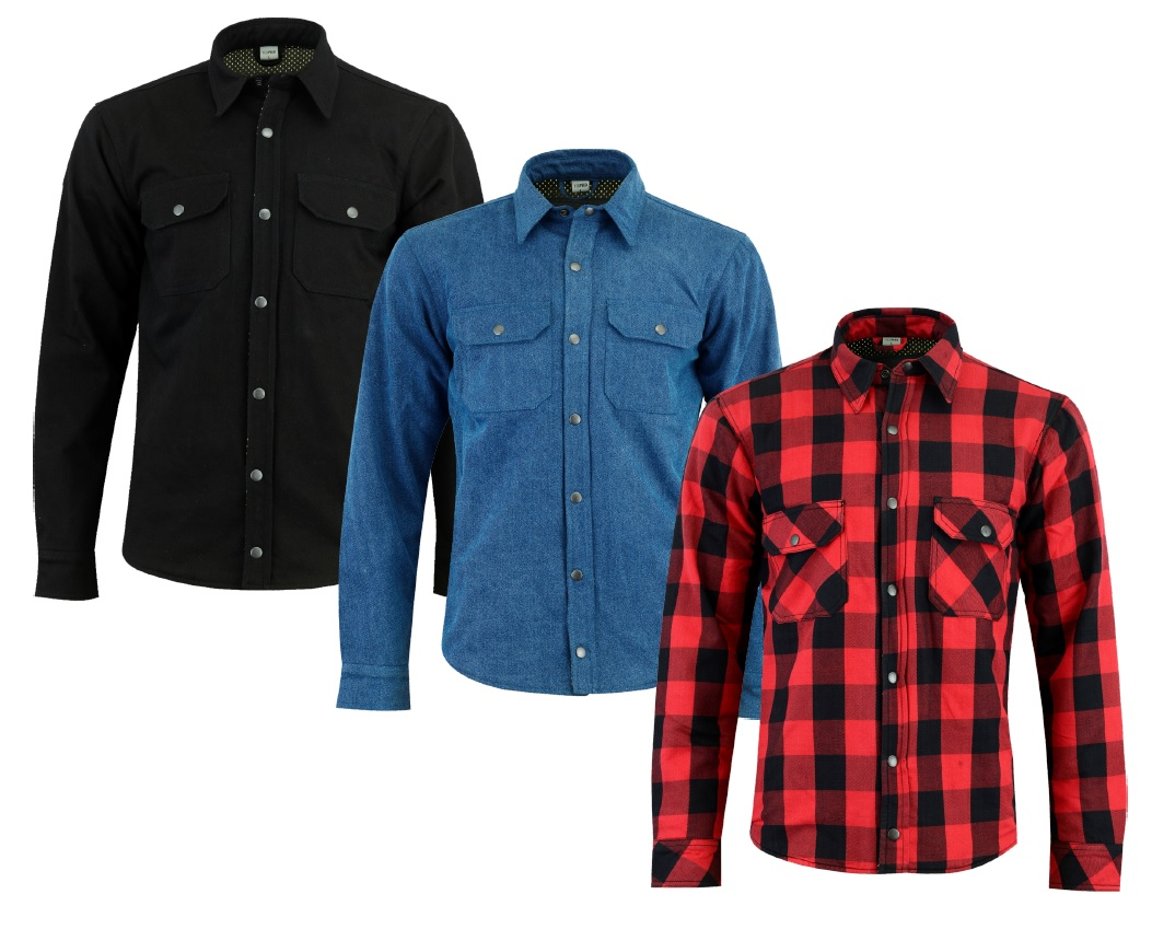 Texpeed Kevlar Lined Shirt - 3 Colours - M-5XL