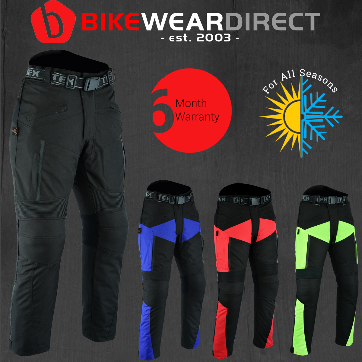 CT-XTRA-BK (Colour Trousers)