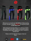 CT-XTRA-BK (Colour Trousers)