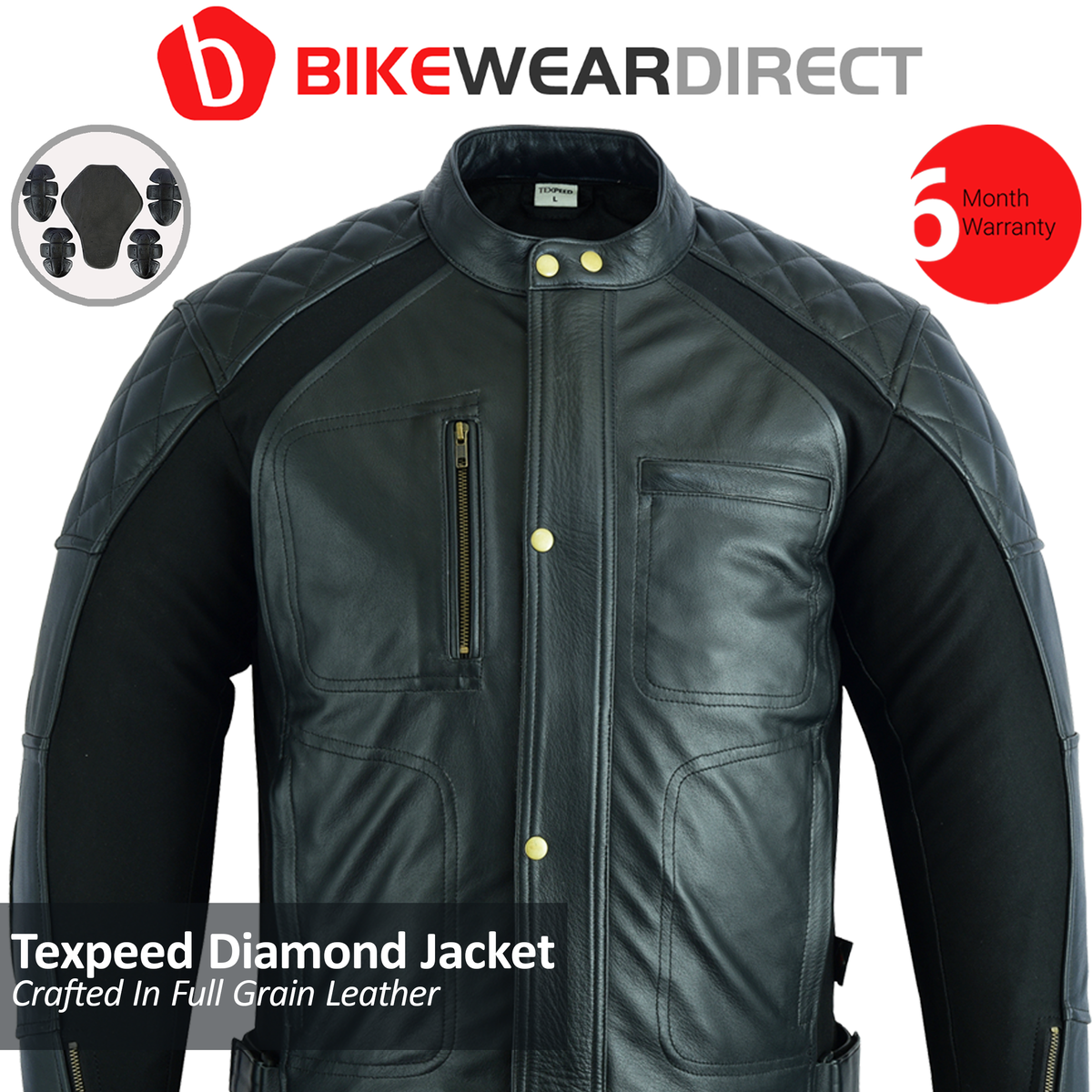 Texpeed DIA Stretch Leather Jacket