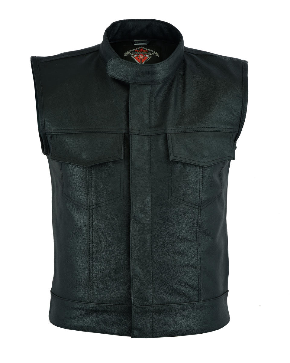 Texpeed Mens Sons of Anarchy Waistcoat
