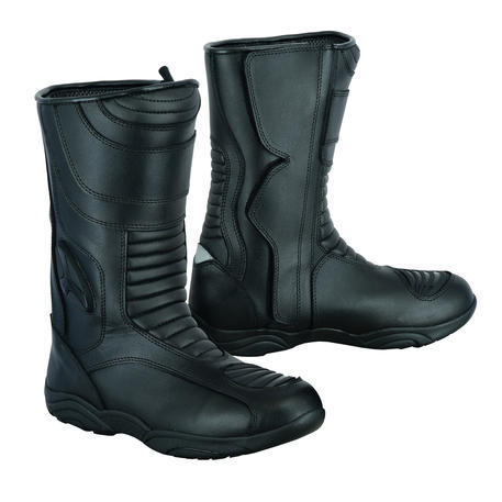 Leather Motorbike Motorcycle Boots Shoes Waterproof Touring Biker Armour Hi Low