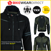 Texpeed Black & Grey Kevlar Lined Hoodie