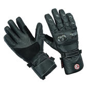 Motorbike Motorcycle Leather Gloves Winter Thermal Waterproof CE Armour Biker