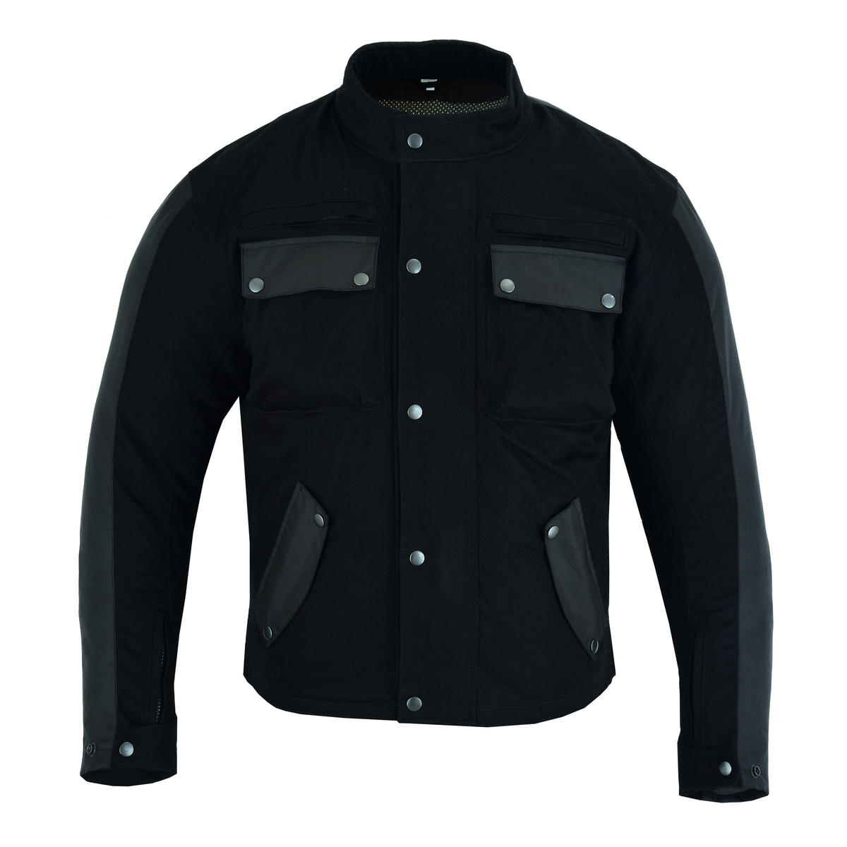 Motorbike Motorcycle Jacket Aramid Textile Biker Casual Armour Protect
