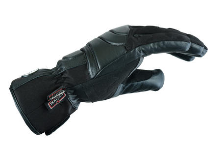 Waterproof Motorbike Motorcycle Gloves Textile Black Biker City Warm Lightweight