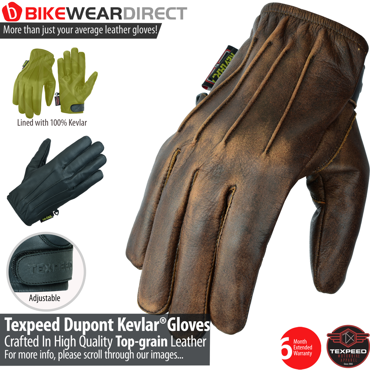 G-KEV (Kevlar Gloves)
