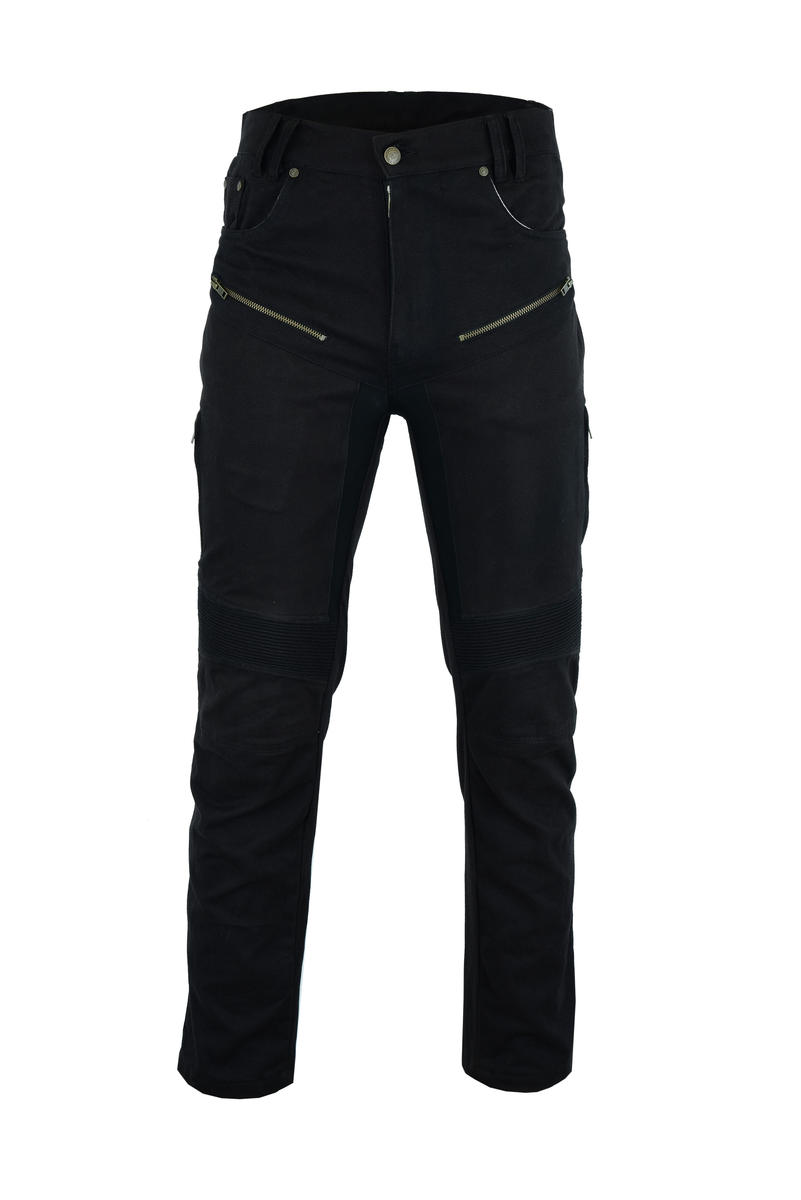 Motorbike Motorcycle Jeans Protective Aramid Tapered Denim With CE Biker Armour