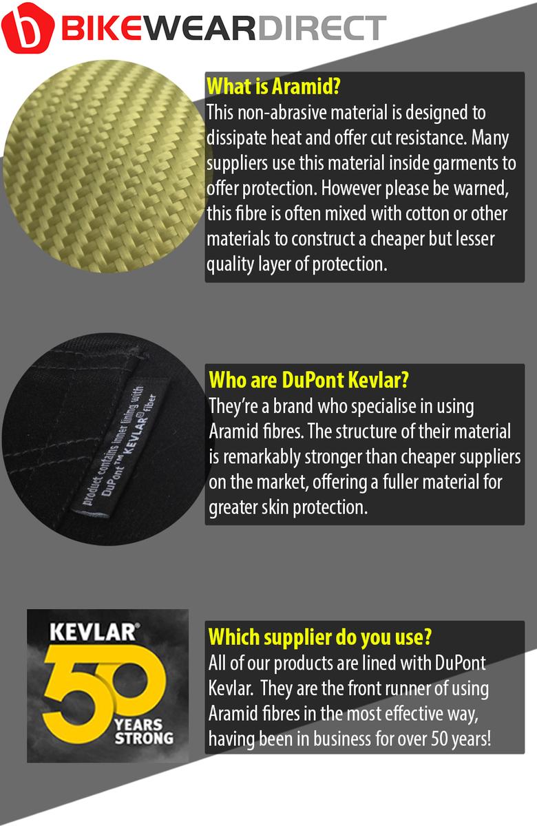 KEV-JN-BKR (Black Stretch Kevlar Jeans)