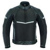 Leather Motorcycle Motorbike Jacket Waterproof Biker Race With Genuine CE Armour