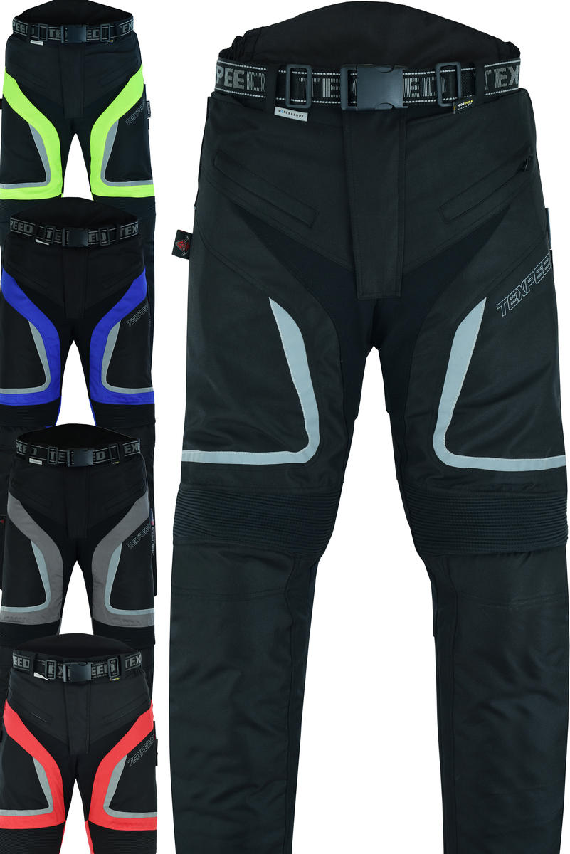 Motorcycle Motorbike Trousers Waterproof Cordura With CE Protective Biker Armour