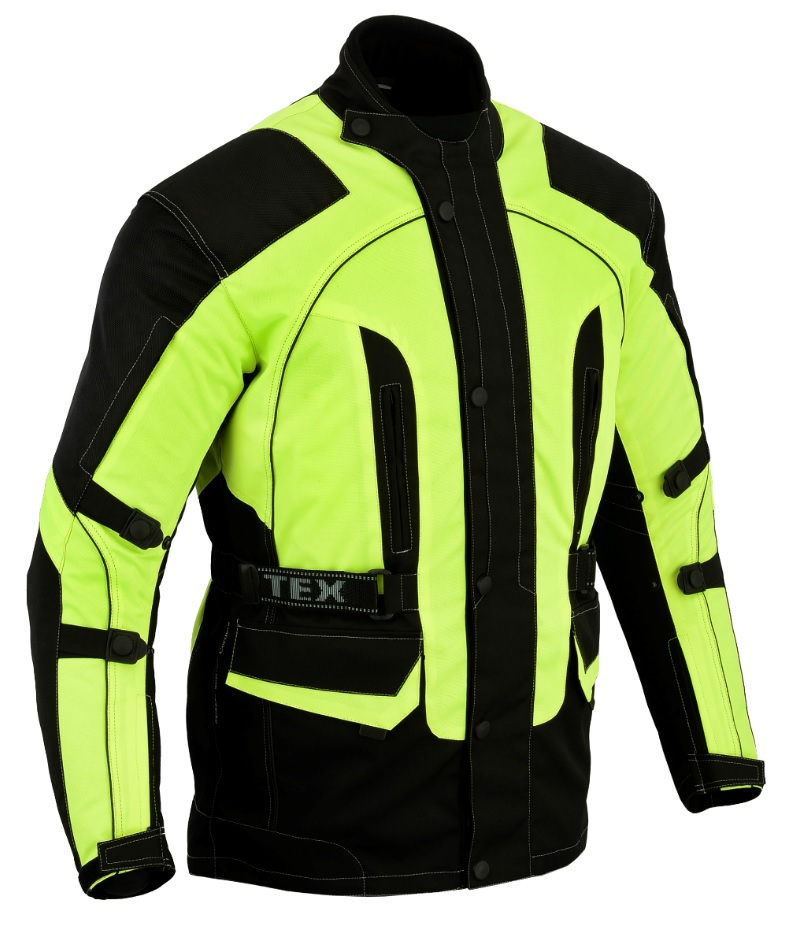 Texpeed Black   Hi-Vis Armoured Jacket. 4% Off 05bcf3586