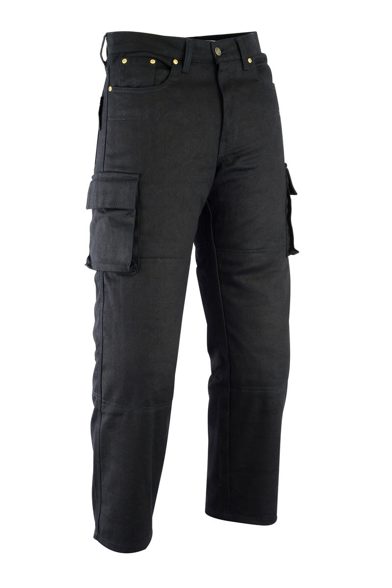 Motorbike Motorcycle Cargo Trousers Biker CE Armour Made With Kevlar Aramid Prot