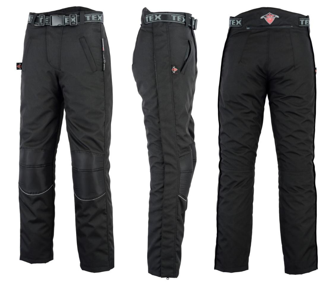 Texpeed Black Waterproof Over Trousers