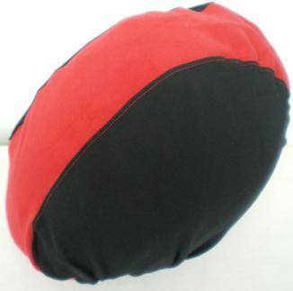 Texpeed Black & Red Helmet Cover