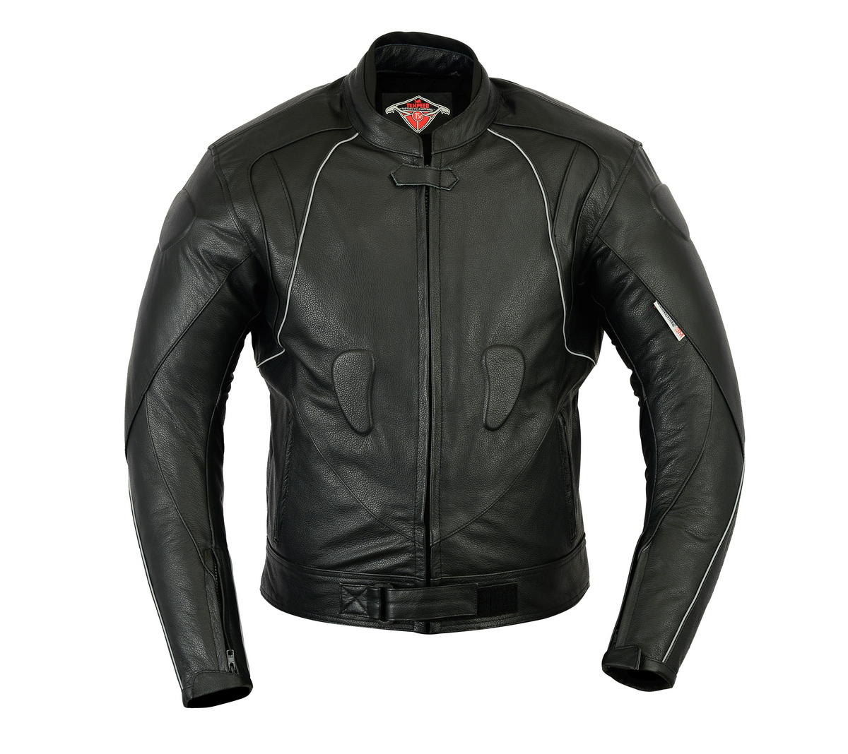 Texpeed Mens Leather Racing Jacket