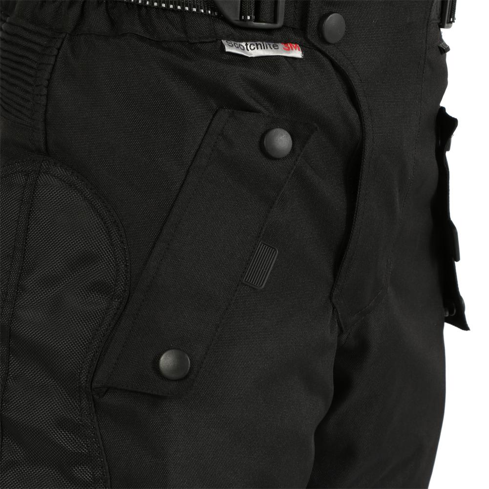 a40a62e134ec4 CENTINELA Moto Motocicleta Pantalones Impermeable Biker Negro Scooter CE  Blindado