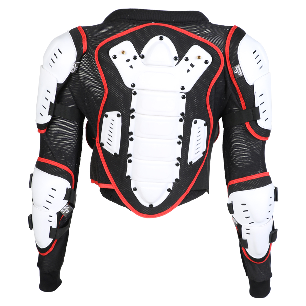 Childrens Kids Body CE Approved Armour Protection Jacket Skiing MX Quad MTB ATV