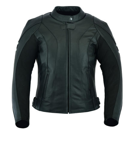Womens Ladies Motorbike Motorcycle Leather Jacket Biker With CE Armour Thermal