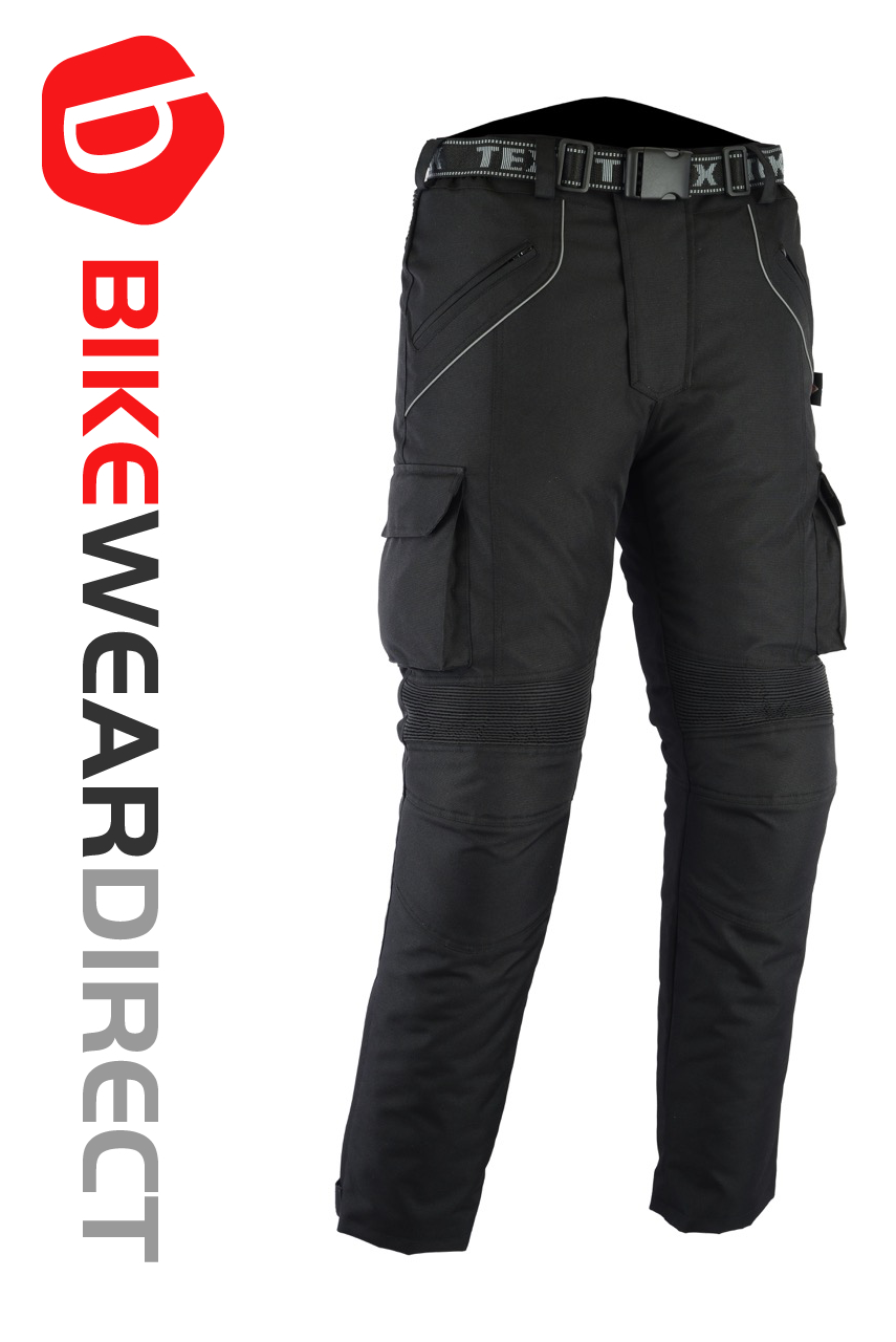 Texpeed Black Waterproof Armoured Trousers  9bb820343