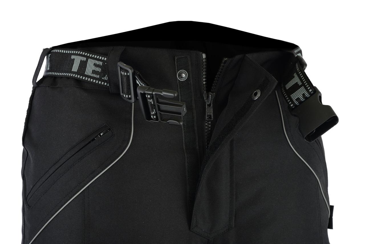 Texpeed Alle Gr/ö/ßen Motorradhose mit Protektoren Cordura Wasserdicht Schwarz Textil