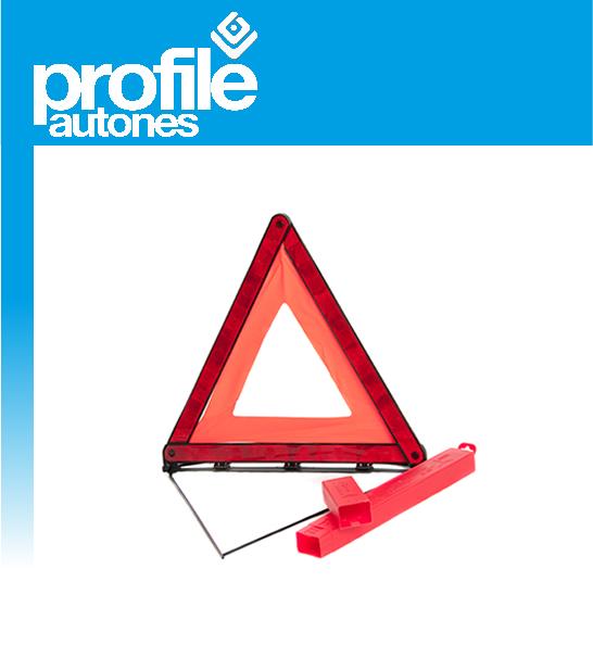 Emergency Breakdown Warning Triangle European Road Hazard Safety Red EU Standard